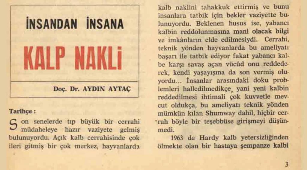 bilim ve teknik 1968