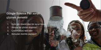 Google Science Fair nasıl başvurulur