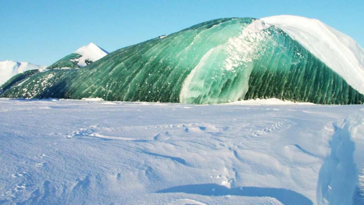 yeşil buzdağları-green icebergs