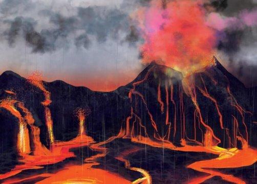 Büyük yok oluşun sebebinin volkanlar olduğu cıva sayesinde anlaşıldı
