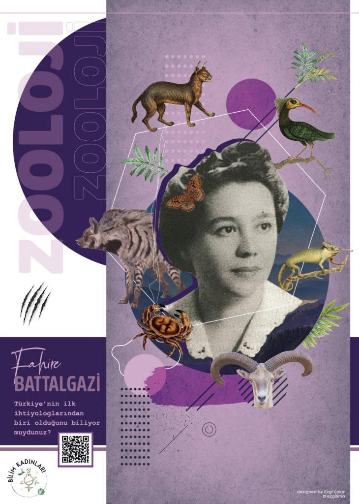 Fahire Battalgazi poster çalışması