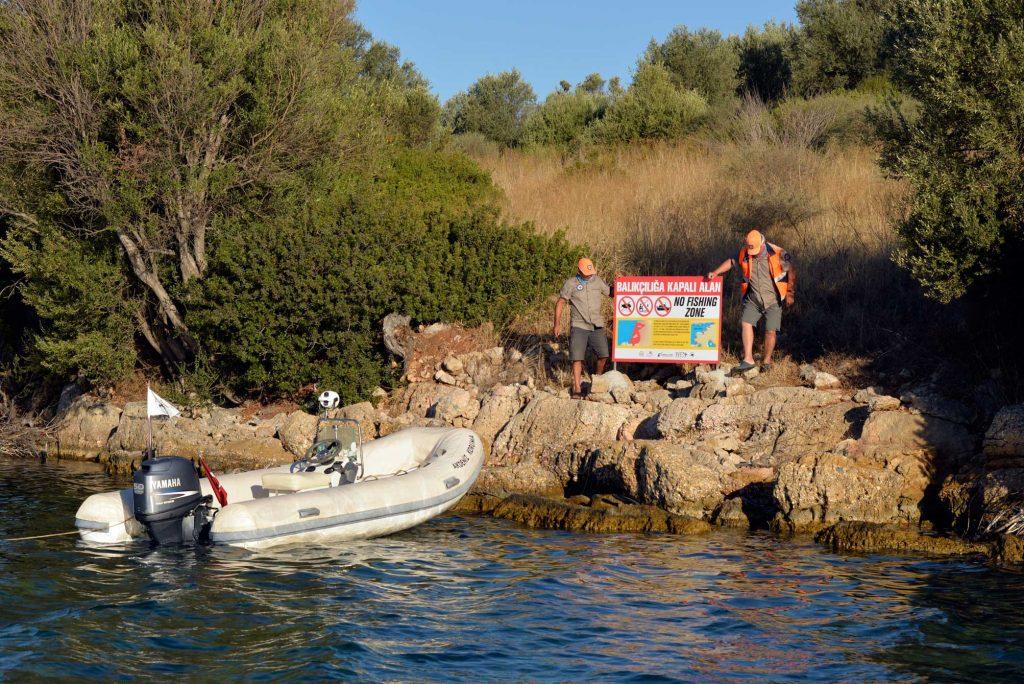 Akdeniz Koruma Derneği deniz korucu sistemi Gökova Körfezi