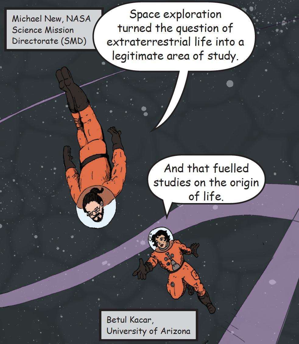 Betül Kaçar NASA Astrobiology dergisinde