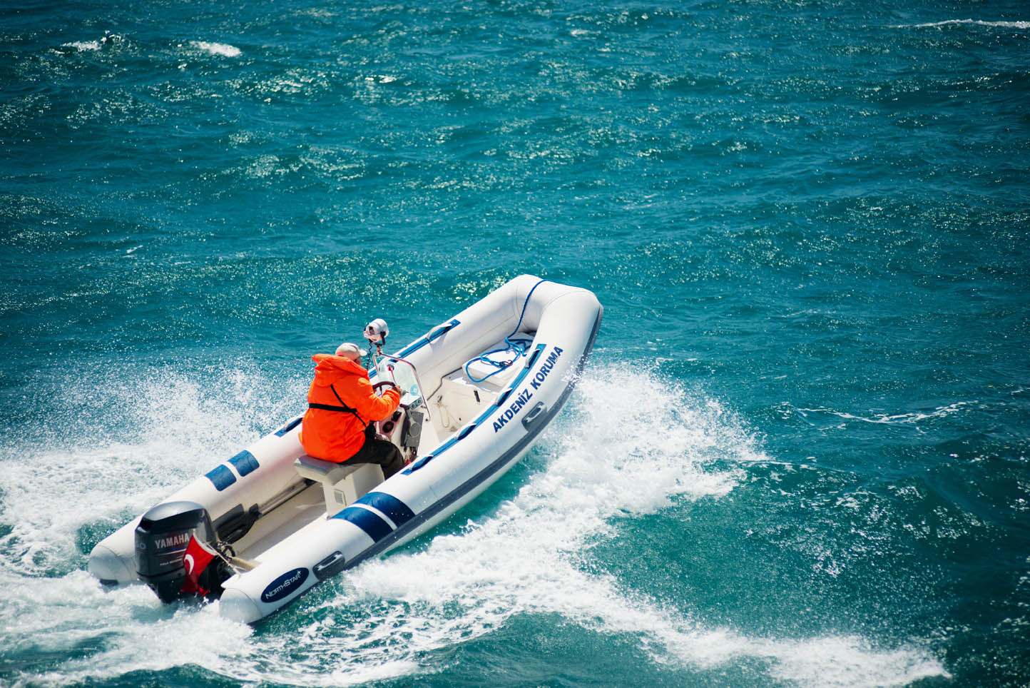 Akdeniz Koruma Derneği Gökova Körfezi deniz korucuları