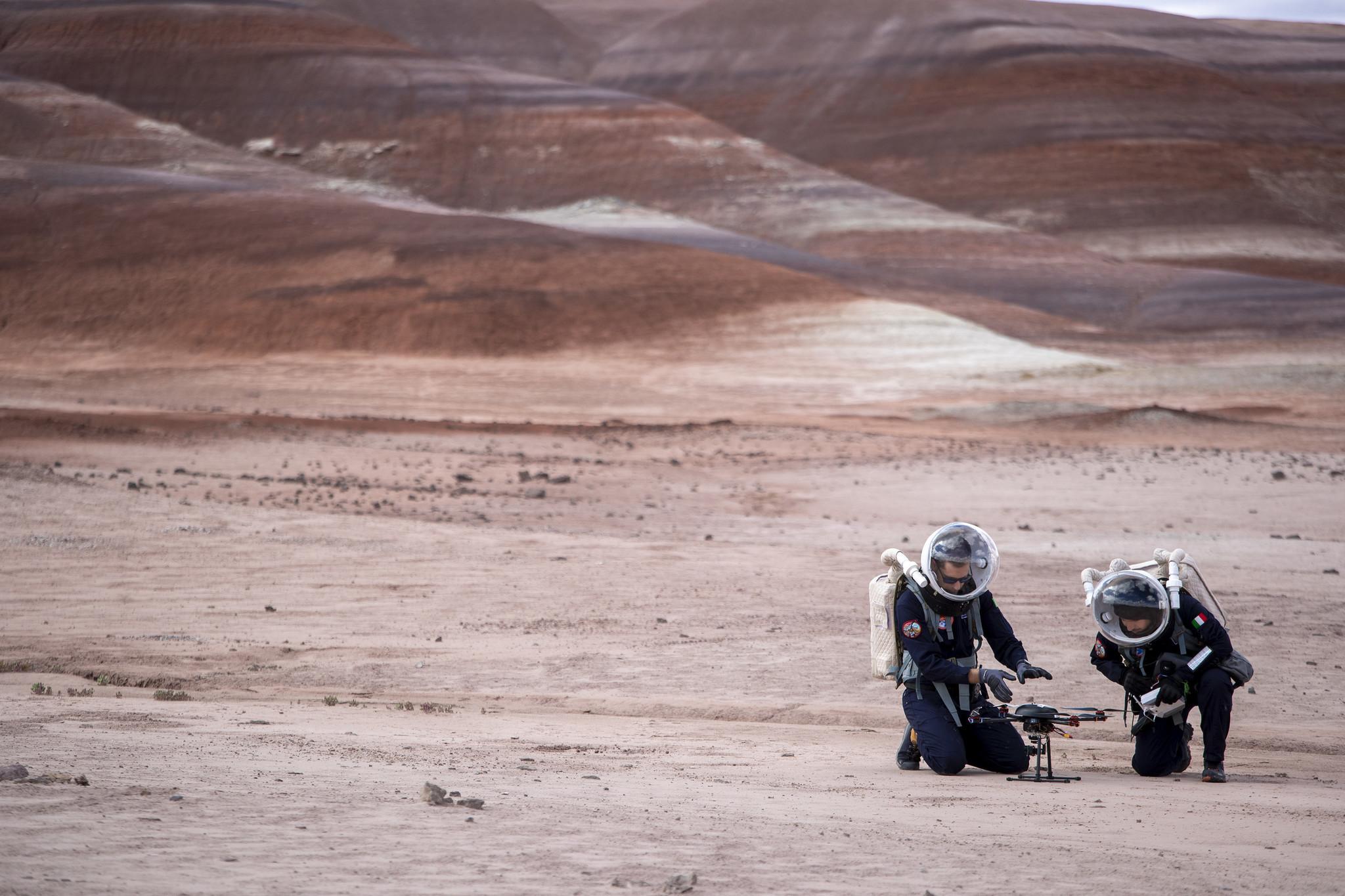 Mars 2033 görevi Utah deneme alanı