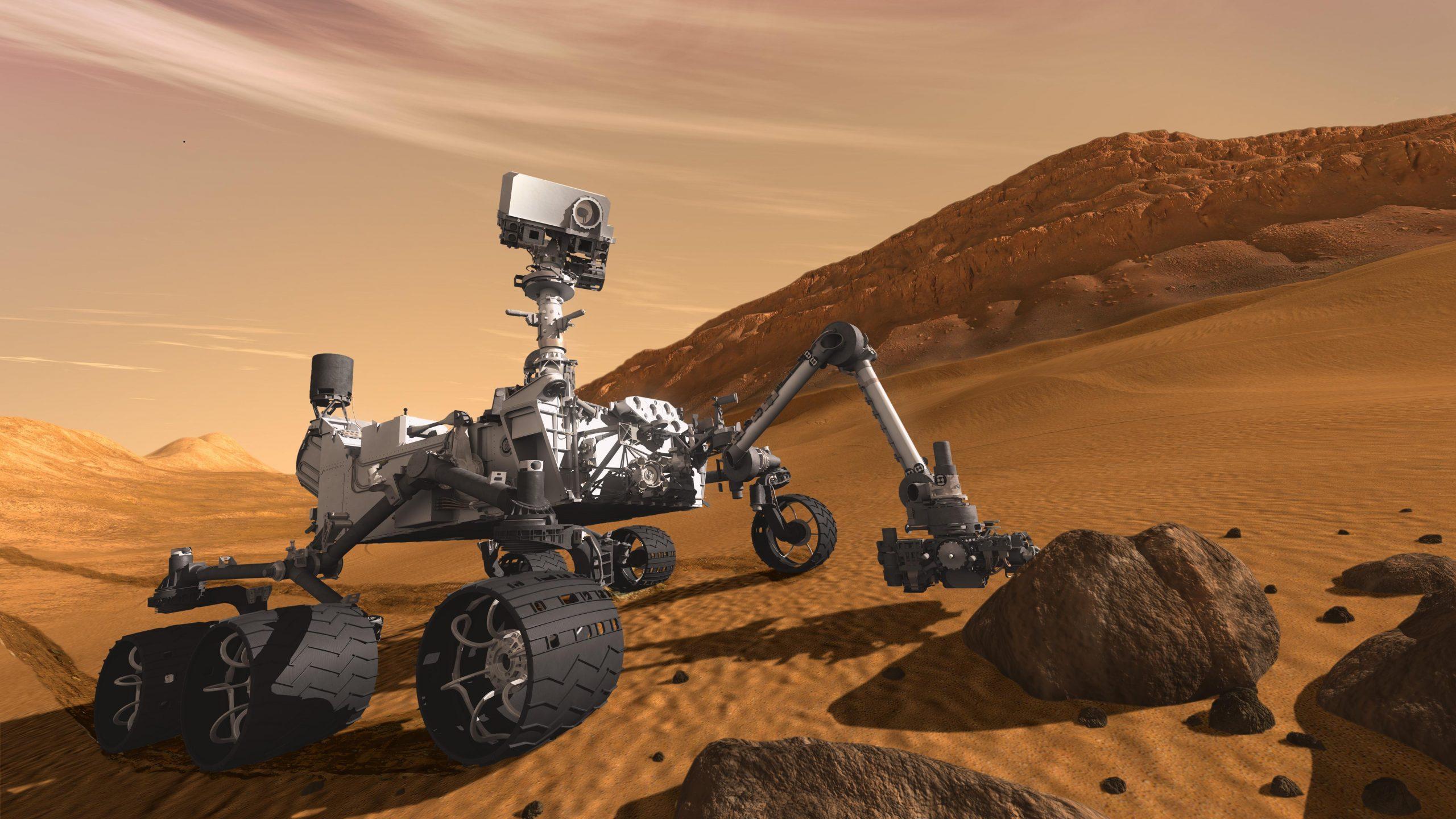 Mars rover Curiosity Mars'ta metan gazı keşfetti