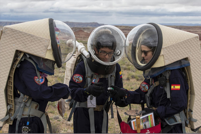 Mars deneme alanı Utah