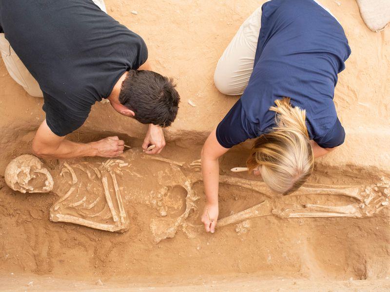 israil arkeolojik kazılar