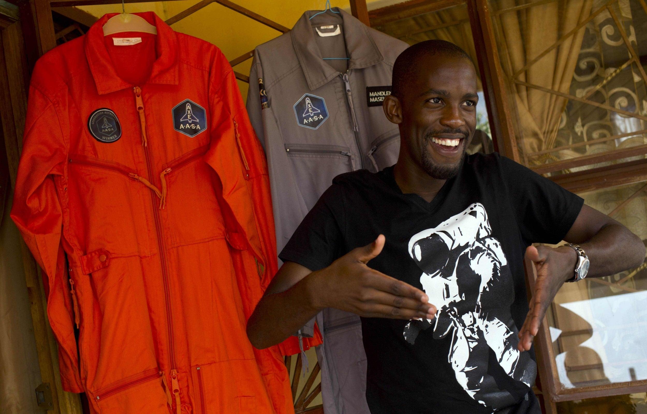 Mandla Maseko ilk siyahi Afrikalı astronot