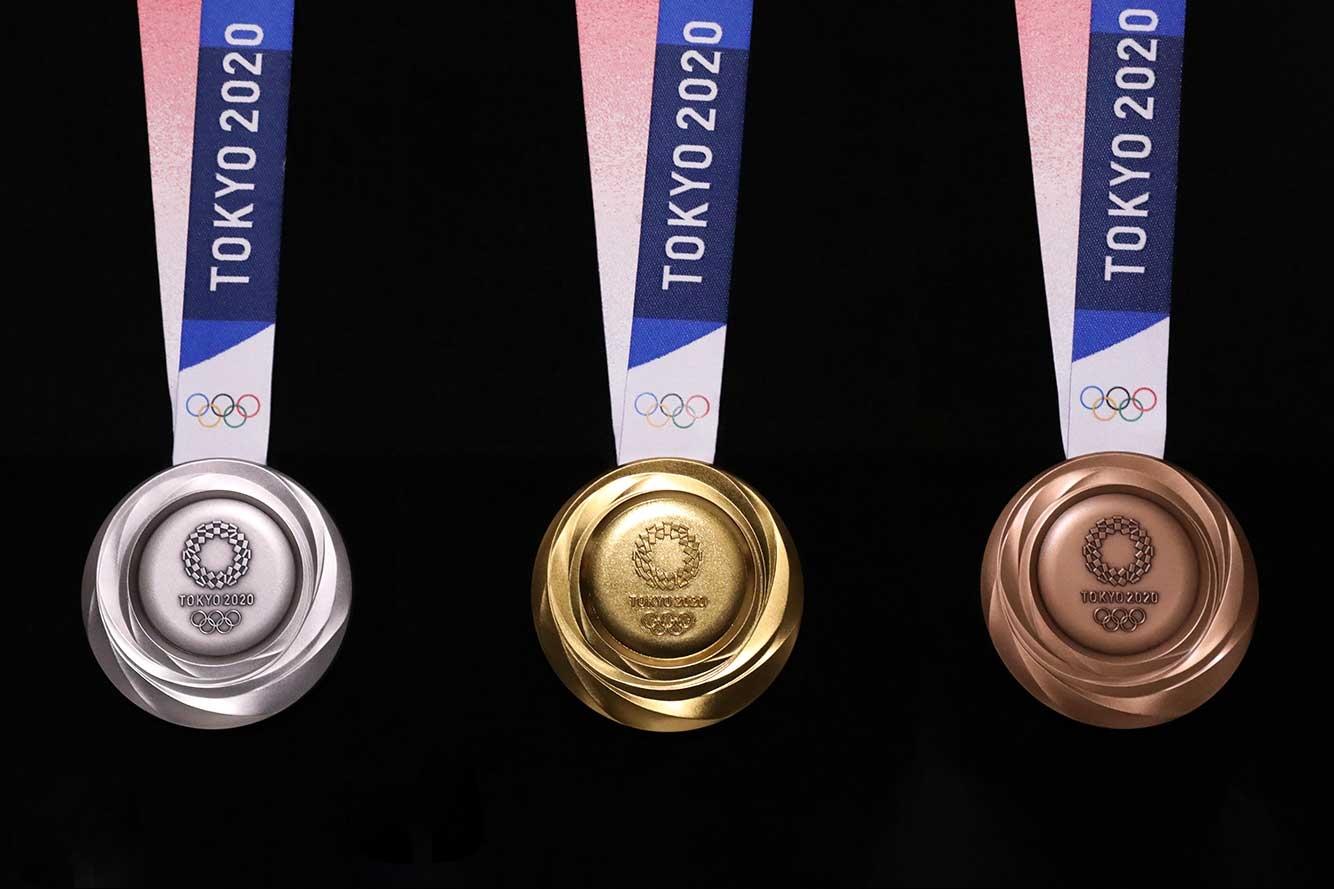 Tokyo 2020 Olimpiyatları madalyaları