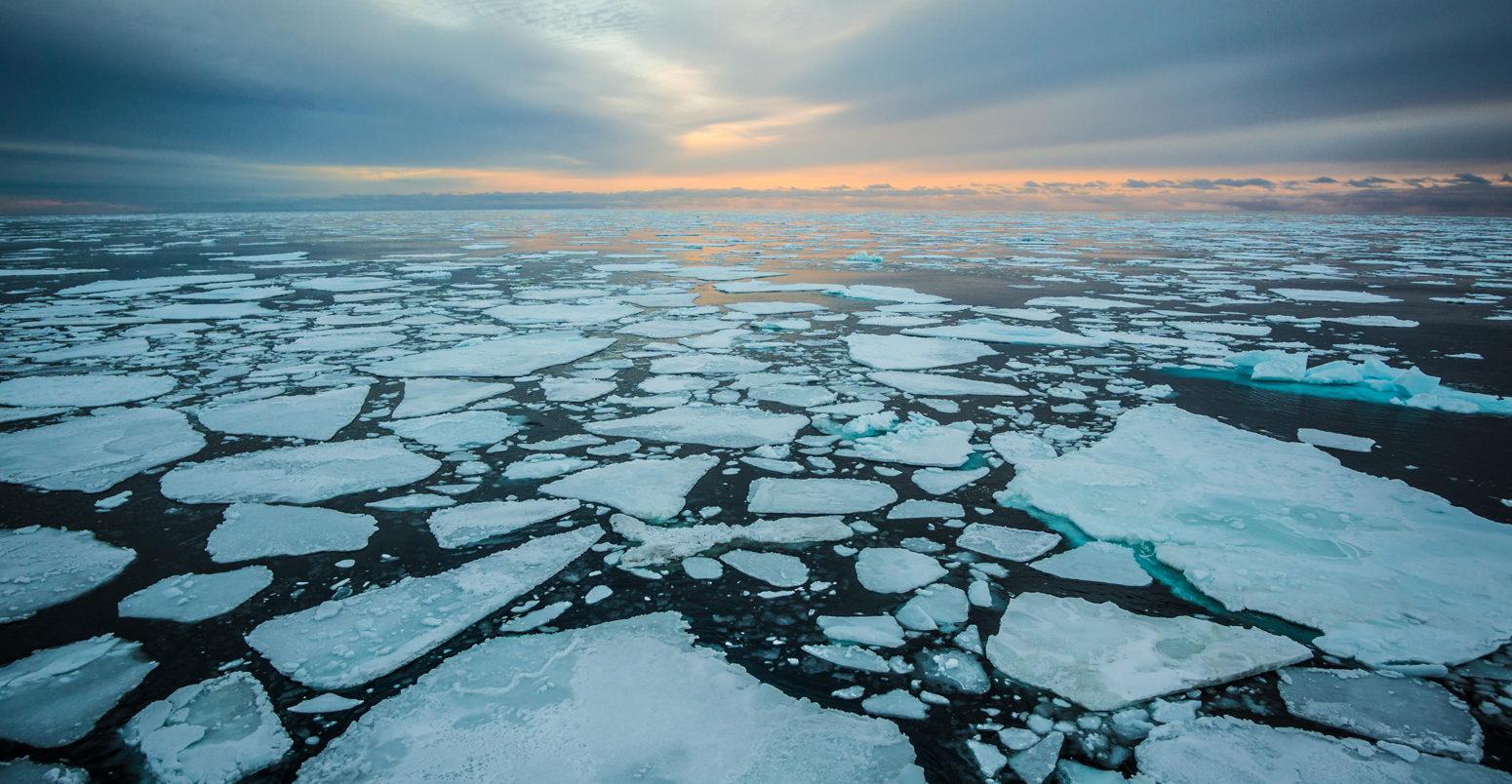 arktik bölgede plastik