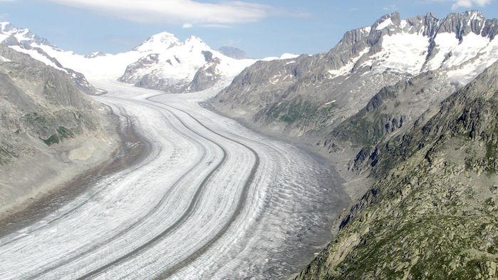 Avrupa buzulları eriyor