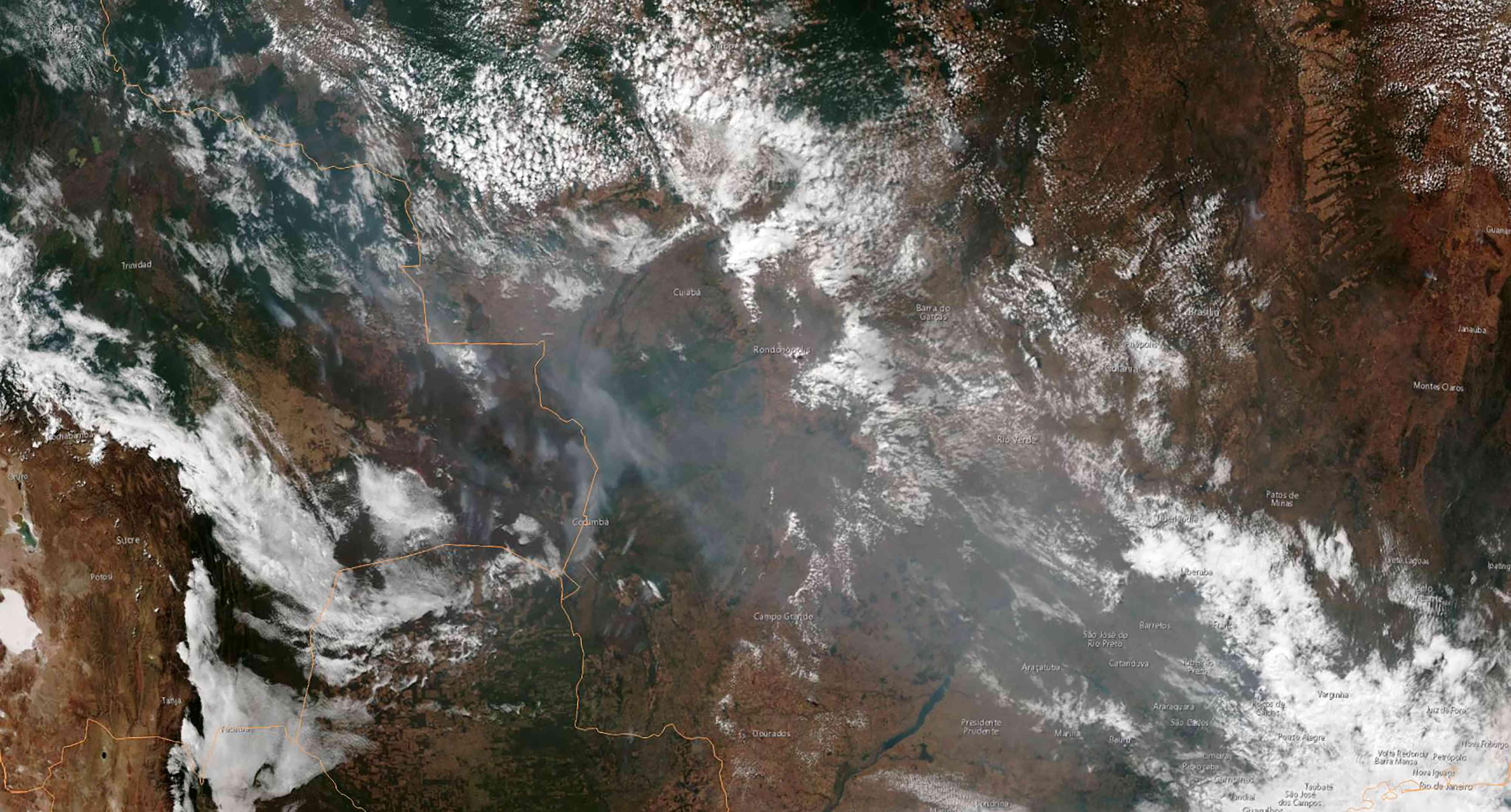 amazon ormanları yanıyor