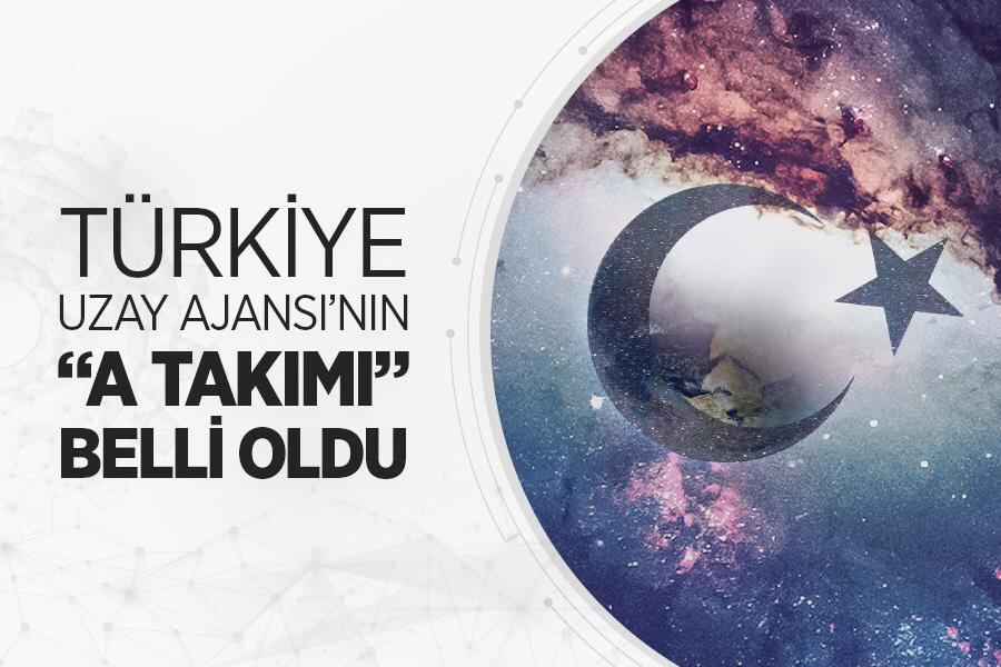 Türkiye Uzay Ajansı kadrosu belli oldu
