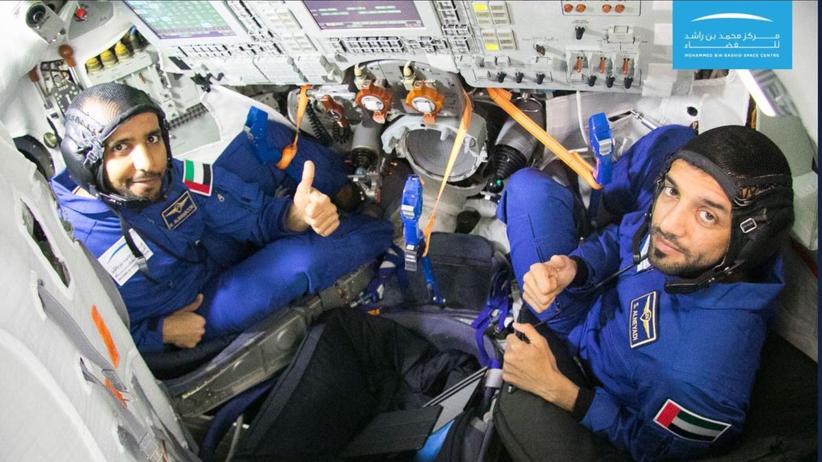 birleşik Arap emirlikleri astronotları