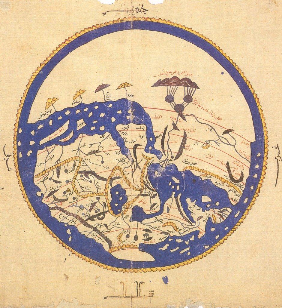İdrisi'nin dünya haritası