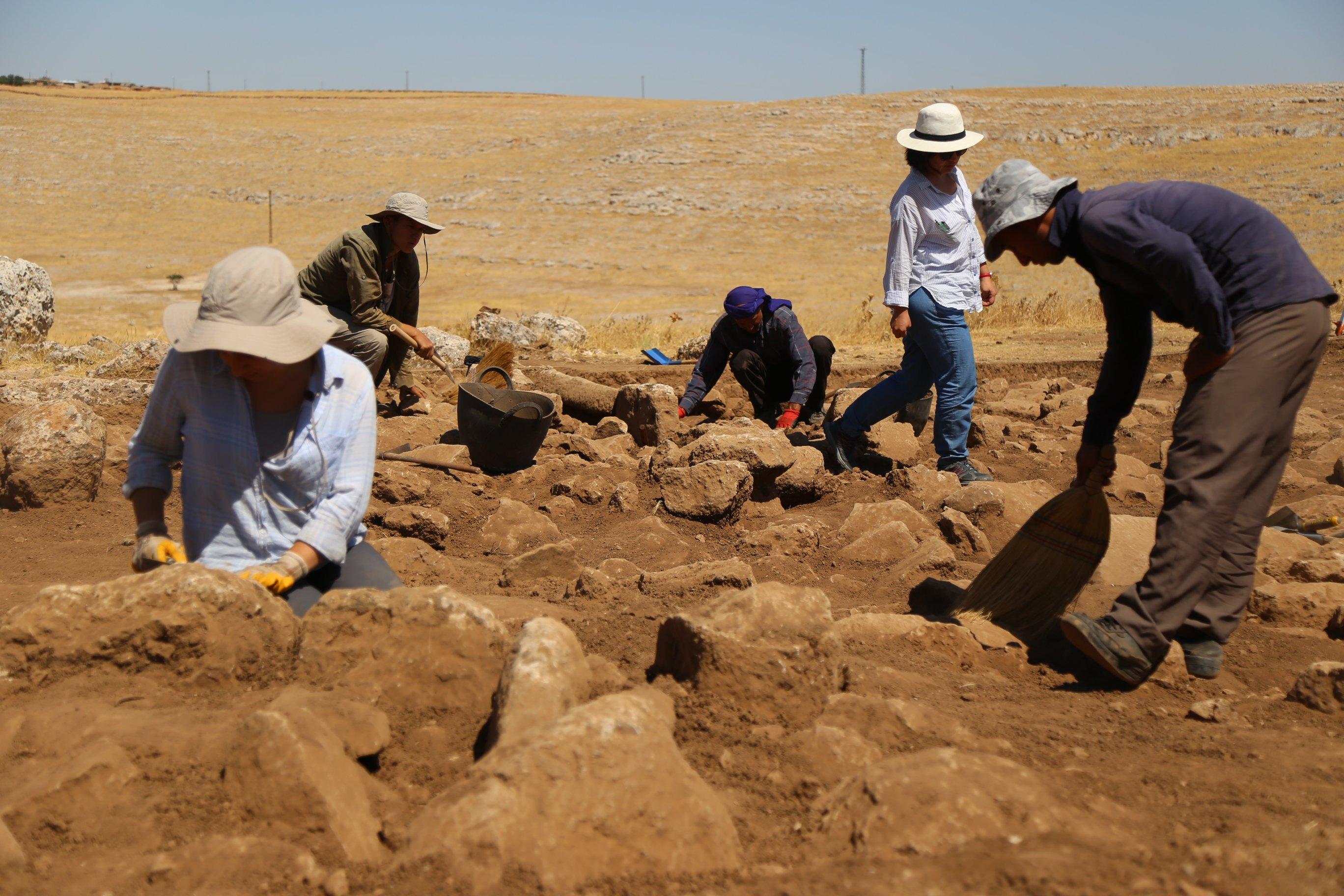 Karahan tepe kazı alanı