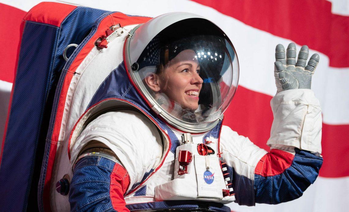 NASA astronot giysisi