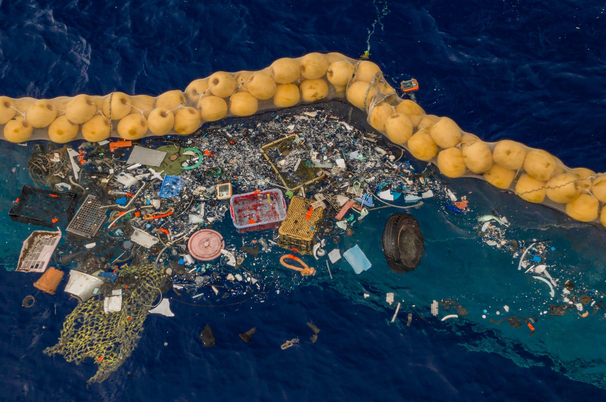 okyanuslarda plastik kirliliği