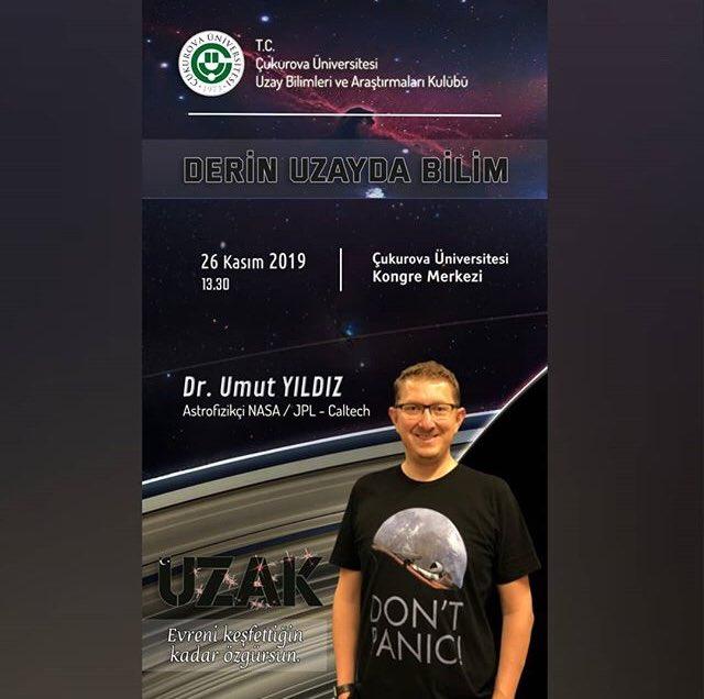 umut yıldız Çukurova üniversitesi konferansı