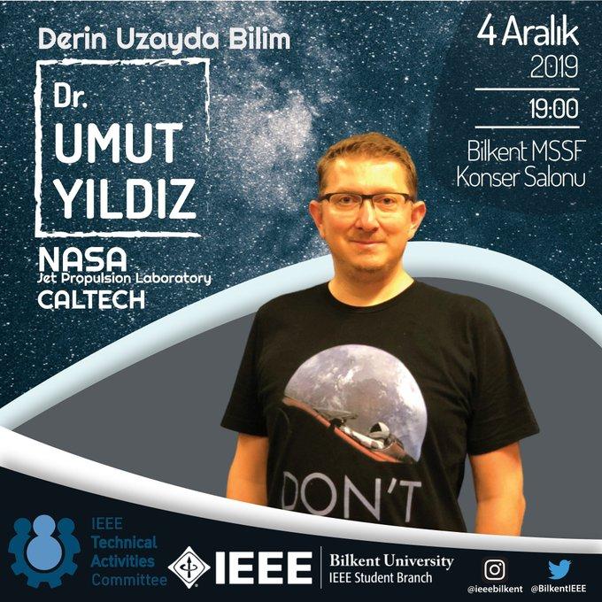 umut yıldız Bilkent üniversitesinde