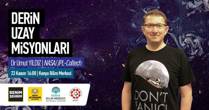 umut yıldız konya bilim merkezi konferansı