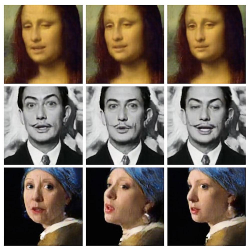 deep fake Mona Lisa