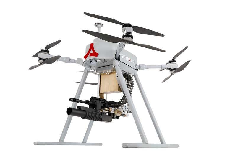 Türkiye makineli tüfekli drone