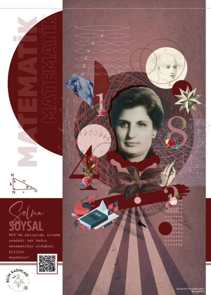 Selma Soysal bilim kadınları posteri