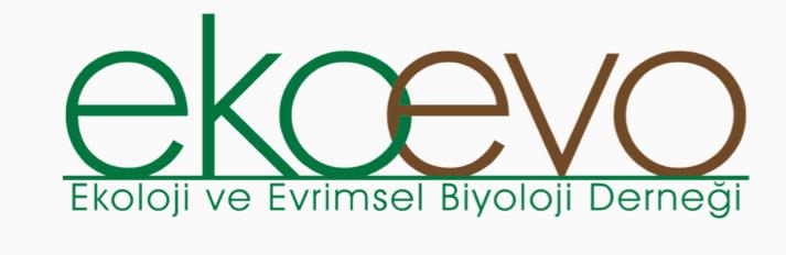 ekoloji ve evrimsel biyoloji derneği logosu