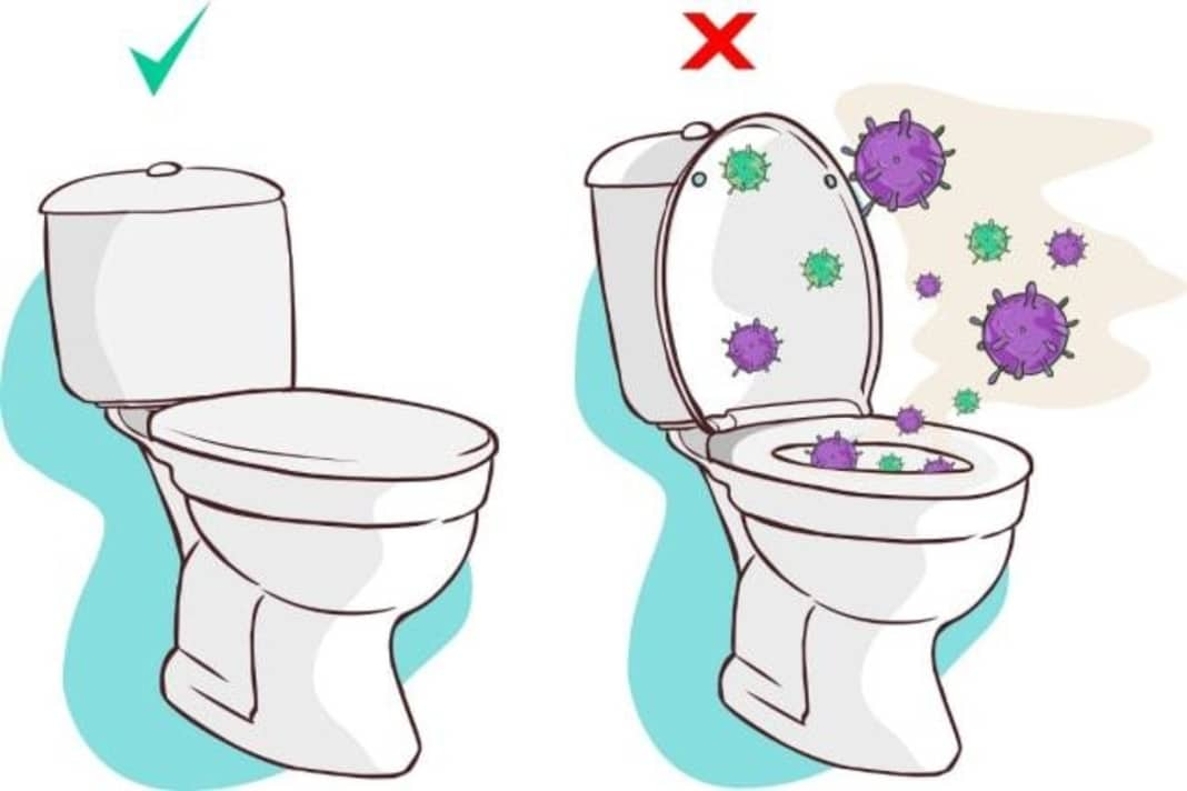 COVID-19 tuvalet havalandırmasından bulaşıyor