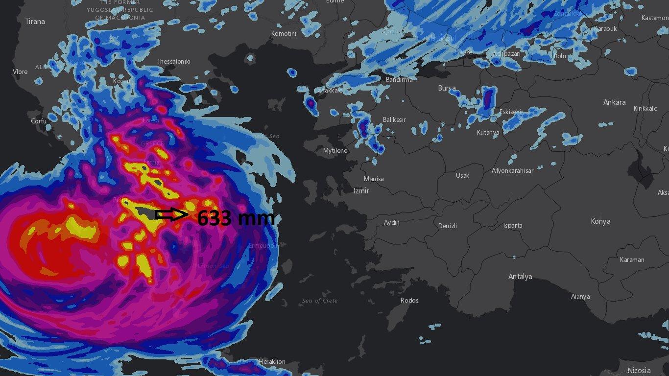Akdeniz tayfunu türkiyeye gelecek mi