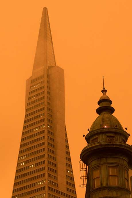 turuncu gökyüzü