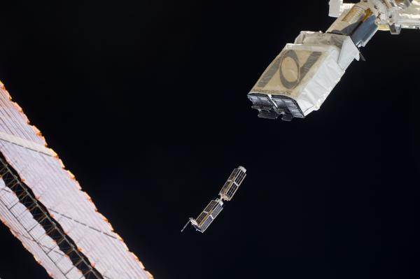 uluslararası uzay istasyonu bilimsel çalışmaları cubesats