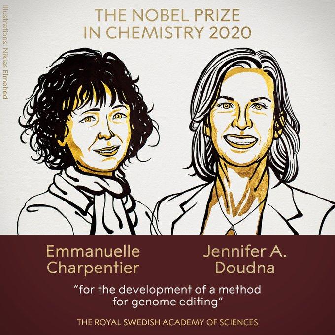 2020 nobel kimya ödülü kimin