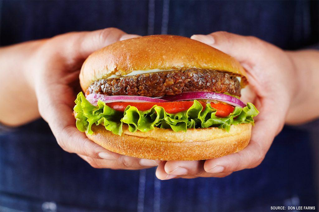 mcdonalds bitki temelli hamburger